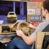 """超""""真實""""用紙板體驗賽車模擬駕駛室"""