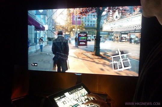 震驚! PS4版《Watch Dogs》可與手機或平板互動