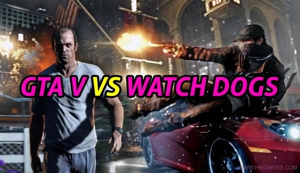watchdogs vs gta5