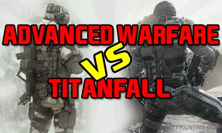 titanfall vs advanced warfare