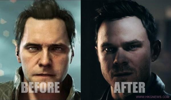 Quantum Break change face
