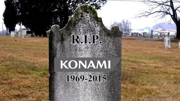 KONAMI is dead
