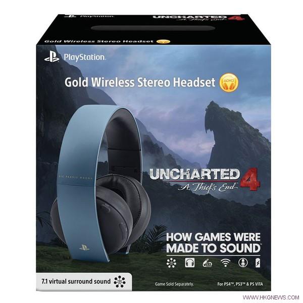 Uncharted 4  headphone