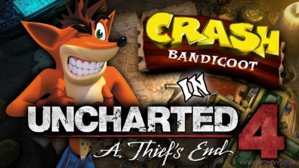uncharted 4 Crash