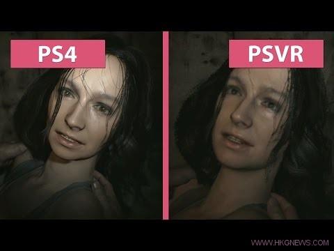 Resident Evil 7 – PS4 vs PSVR