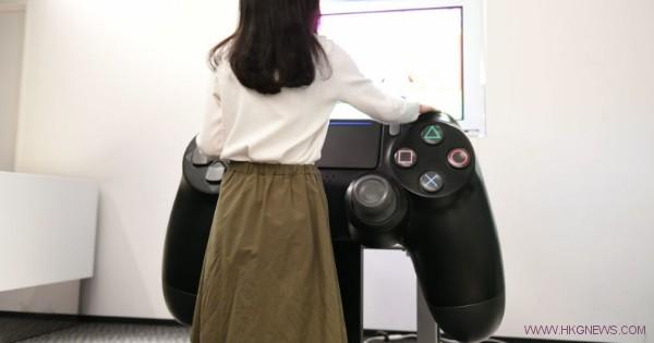 big PS4 controller