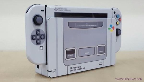 SNES-Themed Nintendo Switch