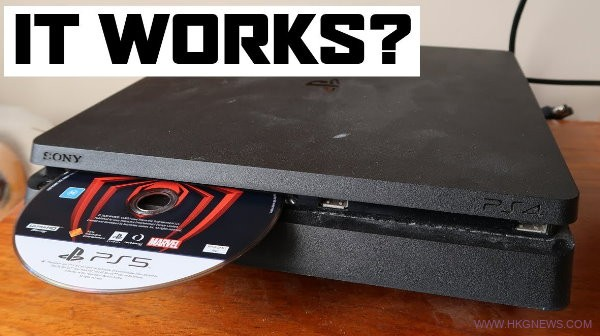 ps5 disk on ps4