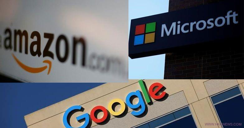 google Microsoft Amazon