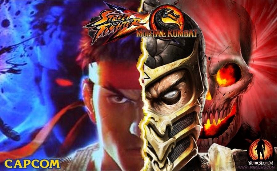 Mortal Kombat Street Fighter