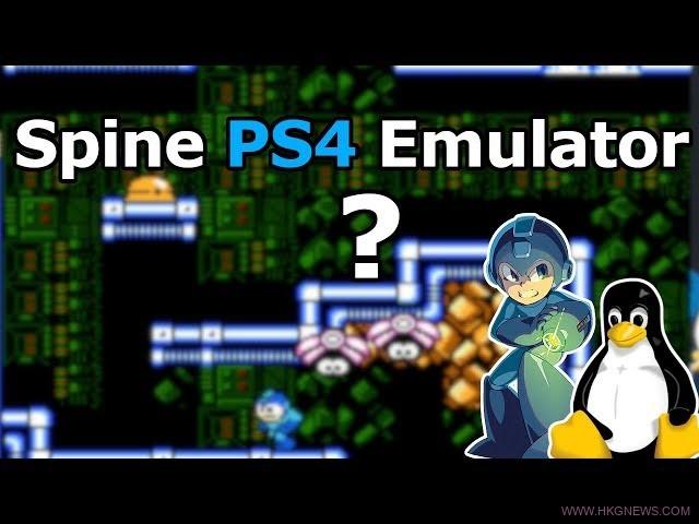 Linux Spine ps4 emu